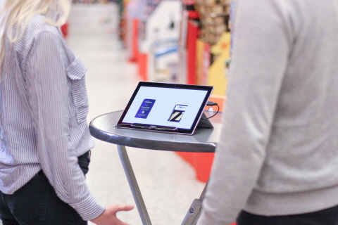 Tobii Pro Nano portable eye tracking lab for attention based studies in the field grocery store