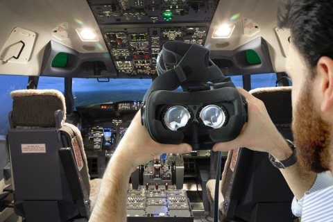 Pilot trainings with Tobii Pro VR Integration based on HTC Vive