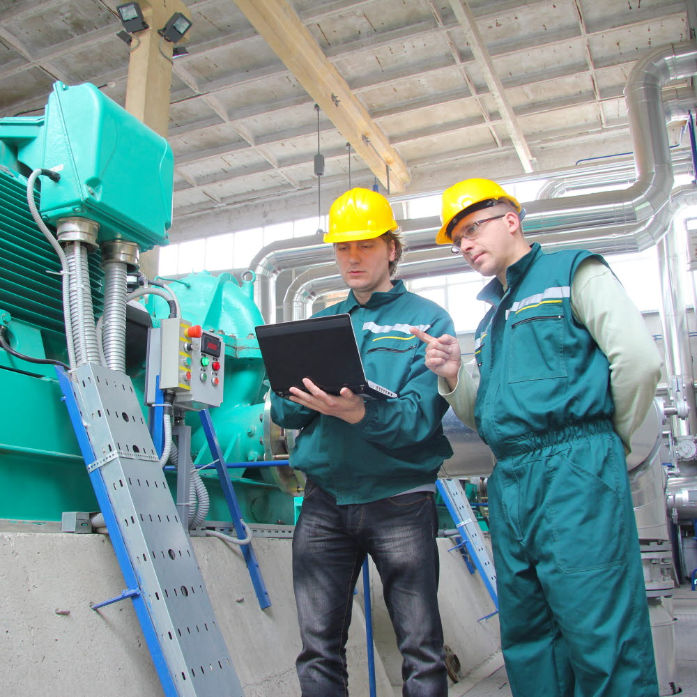 Process and quality inspection at a factory