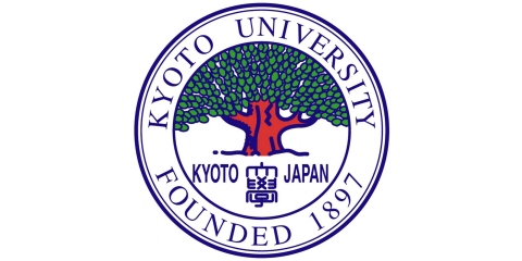 A logotype of the Kyoto University.