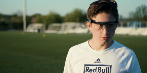 Tobii Pro Glasses 2 used for professional football training and performance improvements