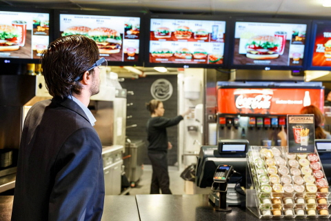 Usability Signage Research in Fast Food Industry with Tobii Glasses 2 Eye Tracker