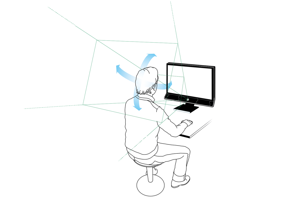 Does head movement affect eye tracking results?