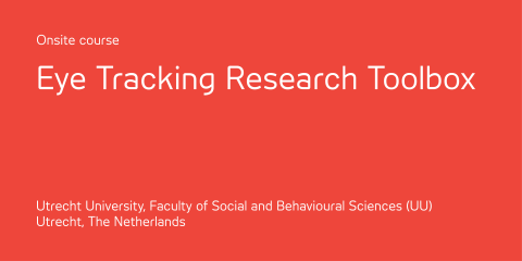 Eye Tracking Research Toolbox