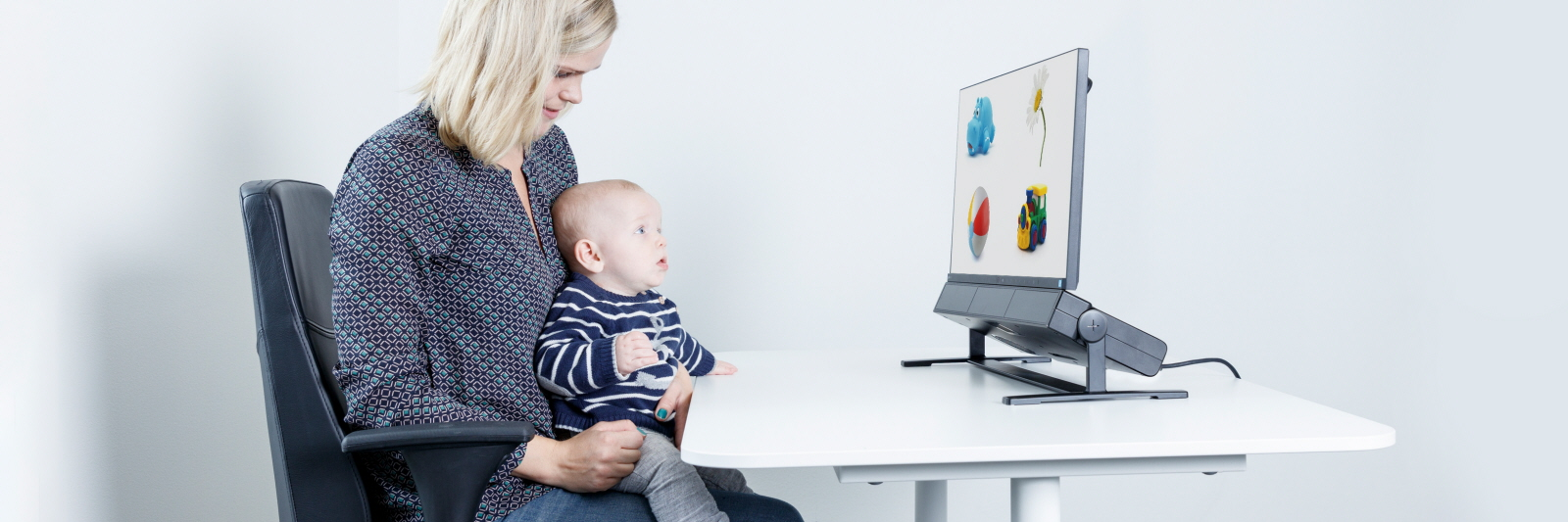 eye tracking in infant and child research tobii pro spectrum eye tracker is used for a developmental research