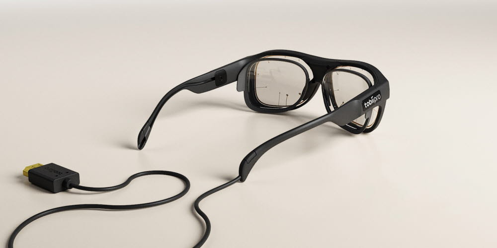 Tobii pro glasses 3 with corrective lenses