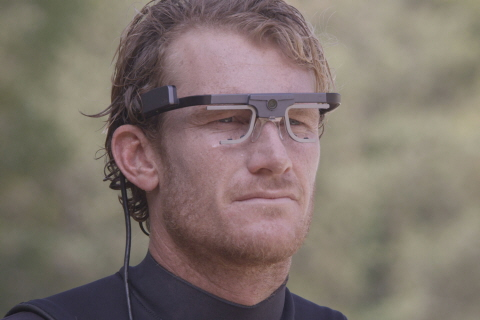 Bede Durbidge Surfing with Tobii Pro Glasses 2 Eye Tracker